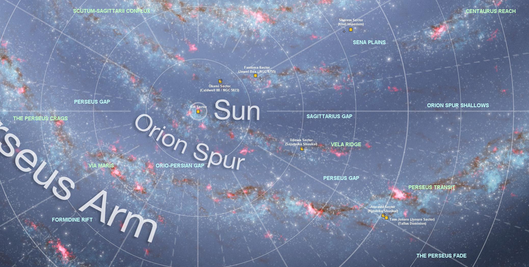 Geography Robotech Rising Sun